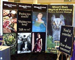 Изготовление плакатов в полиграфии
