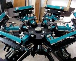 Многоцветный станок для шелкографии