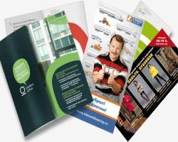 Продукт рекламной полиграфии - листовка