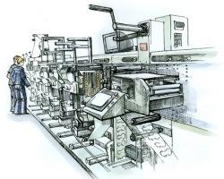 Технология и этапы офсетной печати
