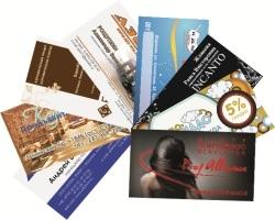 Полиграфическая продукция: визитка