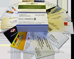 Особенности оформления деловых визиток