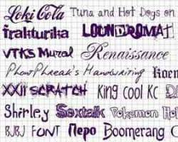 Все о роли шрифтов в полиграфии