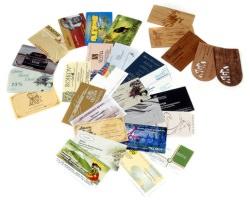 Из истории визитной карточки
