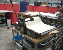 Виды печати: плоская, высокая и глубокая печать